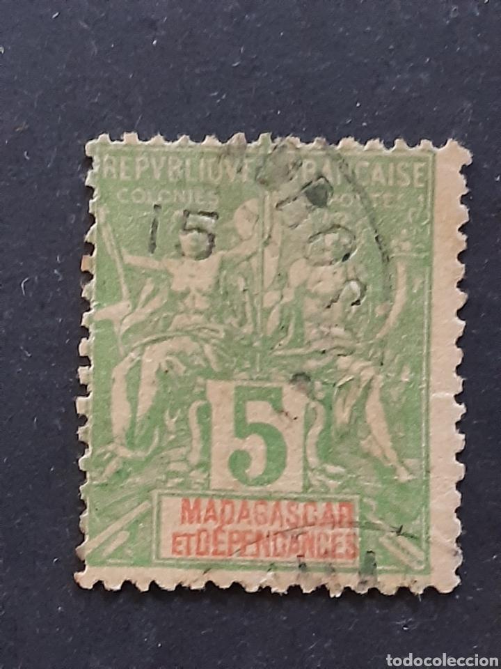 MADAGASCAR, YVERT 42A (Sellos - Extranjero - África - Madagascar)