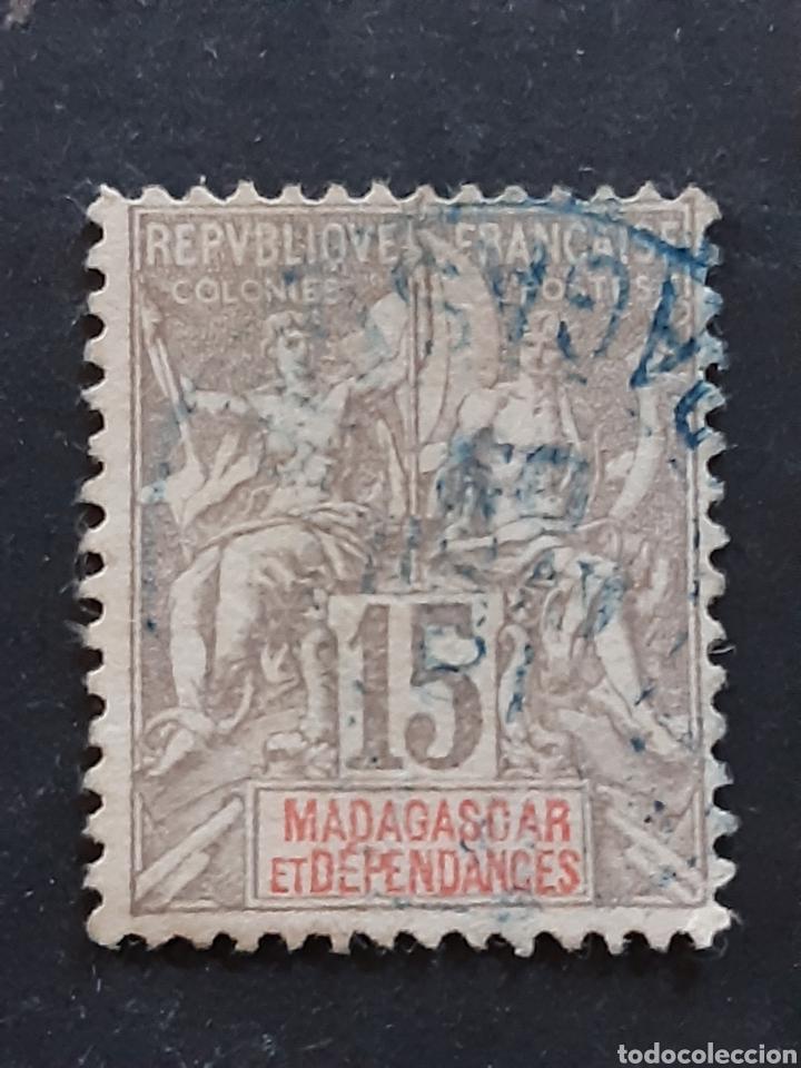MADAGASCAR, YVERT 44 (Sellos - Extranjero - África - Madagascar)