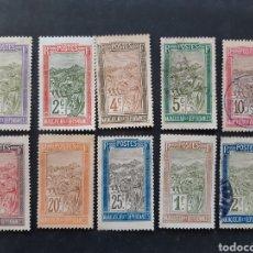 Sellos: MADAGASCAR, YVERT 94-110, 10 VALORES SUELTOS. Lote 194268060