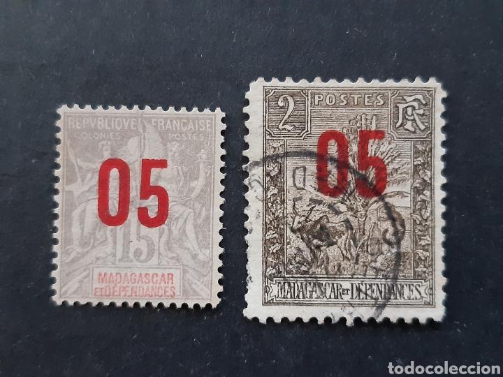 MADAGASCAR, YVERT 111+115 (Sellos - Extranjero - África - Madagascar)