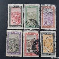 Sellos: MADAGASCAR, YVERT 131-135+139. Lote 194268583