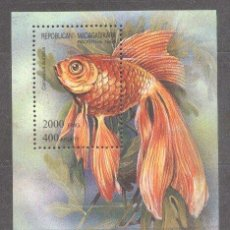 Sellos: MADAGASCAR 1994 FISH, PERF. SHEET, MNH S.090. Lote 198274083