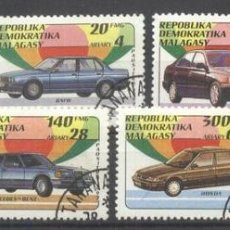 Sellos: MADAGASCAR 1993 CARS USED DE.014. Lote 198274112