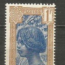 Sellos: MADAGASCAR COLONIA FRANCESA YVERT NUM. 175 * NUEVO CON FIJASELLOS. Lote 203238790