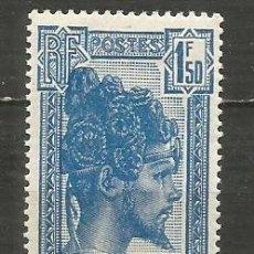 Sellos: MADAGASCAR COLONIA FRANCESA YVERT NUM. 176 * NUEVO CON FIJASELLOS. Lote 203238930