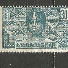Sellos: MADAGASCAR COLONIA FRANCESA YVERT NUM. 169 * NUEVO CON FIJASELLOS. Lote 203241980