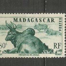 Sellos: MADAGASCAR COLONIA FRANCESA YVERT NUM. 305 ** NUEVO SIN FIJASELLOS. Lote 203242612