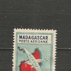 Sellos: MADAGASCAR COLONIA FRANCESA CORREO AEREO YVERT NUM. 29 USADO. Lote 203243035