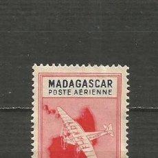 Sellos: MADAGASCAR COLONIA FRANCESA CORREO AEREO YVERT NUM. 31 USADO. Lote 203243077