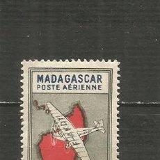 Sellos: MADAGASCAR COLONIA FRANCESA CORREO AEREO YVERT NUM. 32 USADO. Lote 203243105