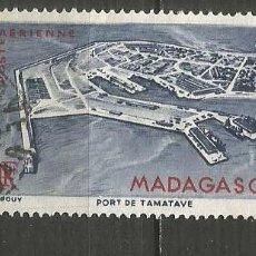 Sellos: MADAGASCAR COLONIA FRANCESA CORREO AEREO YVERT NUM. 63 USADO. Lote 203243160