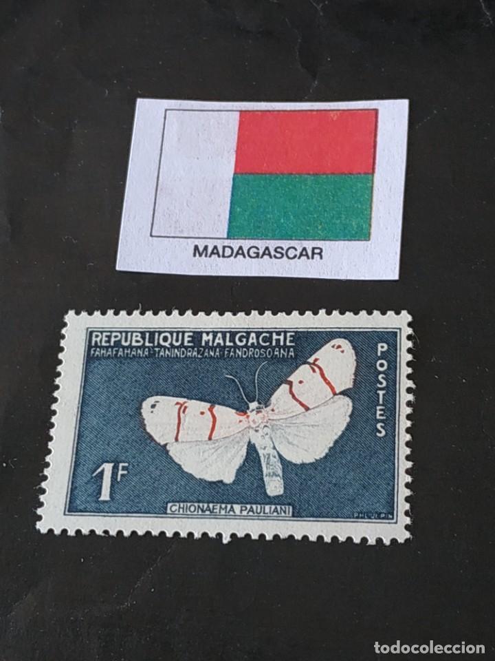 REP MALGACHE A3 (Sellos - Extranjero - África - Madagascar)
