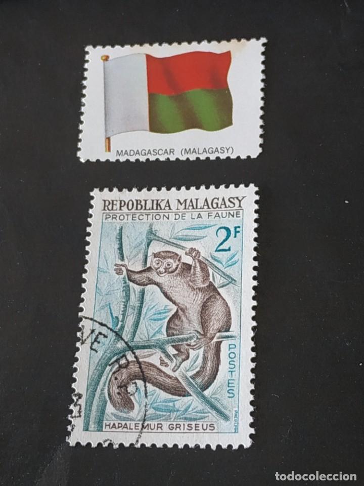 REP MALGACHE C2 (Sellos - Extranjero - África - Madagascar)