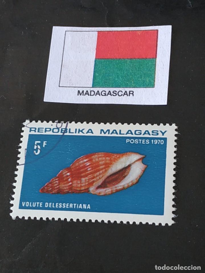 REP MALGACHE D (Sellos - Extranjero - África - Madagascar)