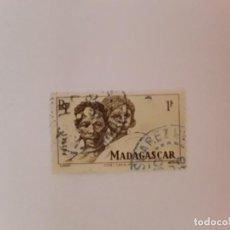 Sellos: MADAGASCAR SELLO USADO. Lote 218897576