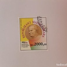 Sellos: MADAGASCAR SELLO USADO. Lote 218897585