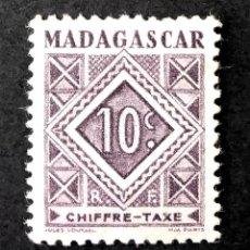 Sellos: SELLO DE FRANQUEO 1947 MADAGASCAR NÚMEROS. Lote 225035497