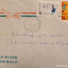 Sellos: O) MALAGASY 1979, MUJERES PARTIDARIAS DE LA REVOLUCIÓN, ANTENA - UIT - DÍA MUNDIAL DE LAS TELECOMUNI. Lote 234407065
