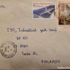 Sellos: O) 1982 MALAGASY, LENIN DIRIGIDA A LOS TRABAJADORES EN EL PALACIO DE INVIERNO, LANZAMIENTO DEL SOYUZ. Lote 235199415