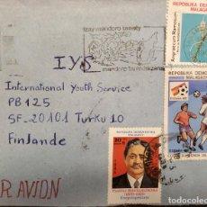 Sellos: O) 1984 MALAGASY, PASTOR RAVELOJAENA - ENCICLOPEDISTA, JUGADORES DE FÚTBOL DE LA COPA MUNDIAL, ORQUÍ. Lote 235200255