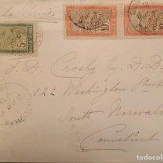 Sellos: O) 1903 MADAGASCAR - MALAGASY, TRANSPORTE EN SILLA SEDA, AL SUR DE NORUEGA. Lote 235575695
