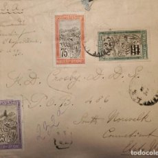 Sellos: ​O) 1903 MADAGASCAR - MALAGASY, TRANSPORTATION BY SEDA CHAIR, TO UNITED STATES. Lote 235578910