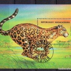 Sellos: MADAGASCAR, 1994, SOUVENIR-SHEET , MICHEL BL261 FDC. Lote 236090580
