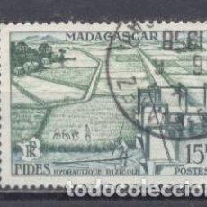 Sellos: MADAGASCAR, 1956- USADO- FIDES. Lote 237575190