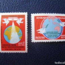 Francobolli: *MADAGASCAR, REPUBLICA DEMOCRATICA, OCEANO INDICO, ZONA DE PAZ. Lote 238470215