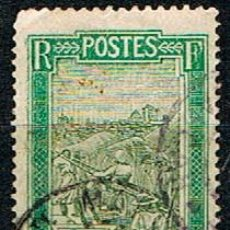 Sellos: MADAGASCAR (COLONIA FRANCESA) IVERT Nº 97 (1908), TRANSPORTE EN PALANQUIN, USADO. Lote 250216020