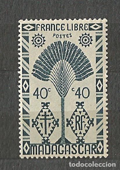 MADAGASCAR - FRANCE LIBRE - 1943 - 2 VALORES NUEVOS (Sellos - Extranjero - África - Madagascar)