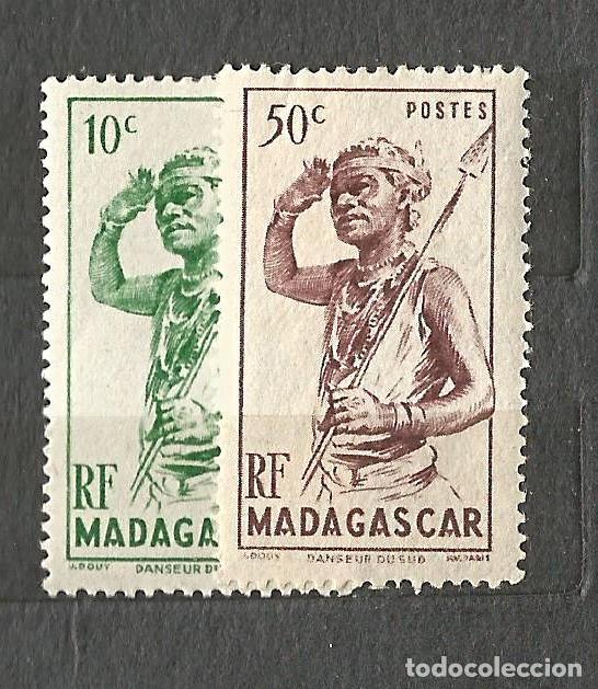 MADAGASCAR - DANSEUR - 2 VALORES NUEVOS (Sellos - Extranjero - África - Madagascar)