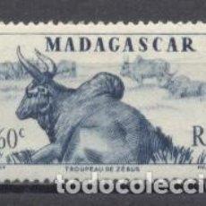 Selos: MADAGASCAR, 1946,YVERT-TELLIER 304,NUEVO CON GOMA. Lote 259306670