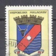 Sellos: MADAGASCAR, 1963/66, YVERT-TELLIER 388, PREOBLITERADO. Lote 259320065