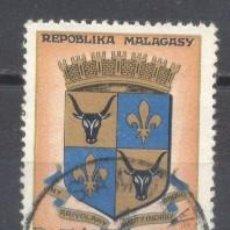 Sellos: MADAGASCAR, 1963/66, YVERT-TELLIER 392, USADO. Lote 259320275