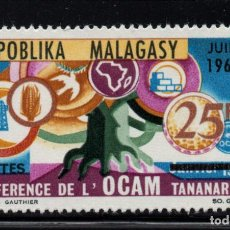 Sellos: MADAGASCAR 424** - AÑO 1966 - CONFERENCIA DE LA ORGANIZACION AFRICANA Y MALGACHE. Lote 267258799