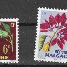Francobolli: MADAGASCAR Nº 336 AL 337 (**). Lote 277563963