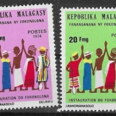 Francobolli: MADAGASCAR Nº 549 AL 552 (**). Lote 277567883