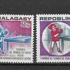 Sellos: MADAGASCAR Nº AE 137 AL 138 (**). Lote 277569398