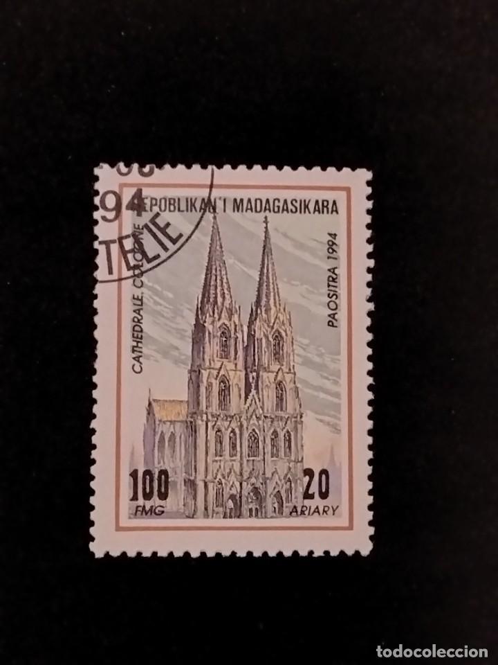 SELLO DE MADAGASCAR - E 52 (Sellos - Extranjero - África - Madagascar)
