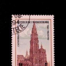 Sellos: SELLO DE MADAGASCAR - E 52. Lote 289359963