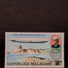 Sellos: SELLO DE MADAGASCAR - E 55. Lote 289362633