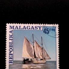 Sellos: SELLO DE MADAGASCAR - E 58. Lote 289364598
