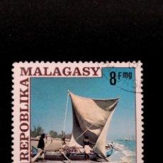 Sellos: SELLO DE MADAGASCAR - E 58. Lote 289364673