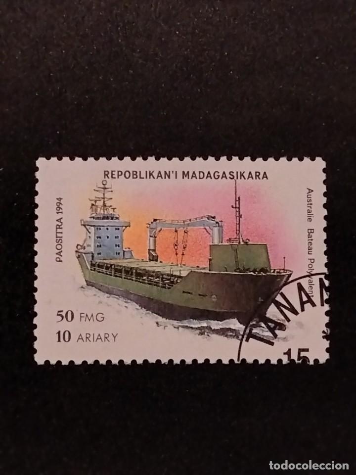 SELLO DE MADAGASCAR - E 58 (Sellos - Extranjero - África - Madagascar)