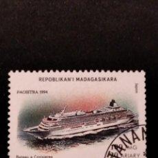 Sellos: SELLO DE MADAGASCAR - E 58. Lote 289364853
