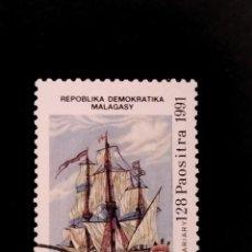 Sellos: SELLO DE MADAGASCAR - E 58. Lote 289365158