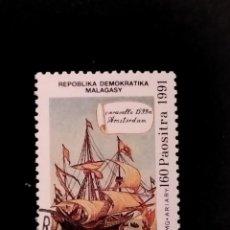 Sellos: SELLO DE MADAGASCAR - E 58. Lote 289365228
