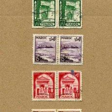 Sellos: MARRUECOS AÑO 1951 - LOTE DE 11 SELLOS USADOS. Lote 8552009