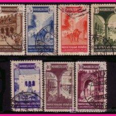 Sellos: MARRUECOS 1941 TIPOS DIVERSOS, SERIE (O). Lote 9105840